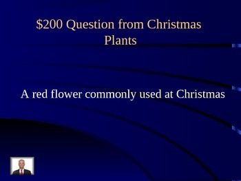 Christmas Jeopardy Round 2