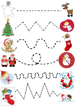 Christmas Join the Dots Worksheet
