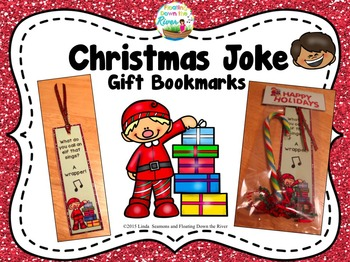 Christmas Joke Gift Bookmark Sampler