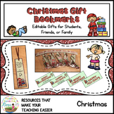 Christmas Joke Gift Bookmarks With Gift Bag Editable Toppers