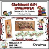 Christmas Joke Gift Bookmarks With Gift Bag Editable Toppers