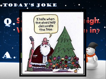 Christmas Joke of the Day!
