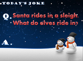 Christmas Joke of the Day!