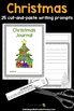 Writing Prompts For Christmas: 25 Cut-And-Paste Writing Prompts