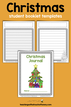 Christmas Writing Prompts.Christmas Activities Cut And Paste Writing Journal Prompts