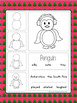 December Poems and Directed Drawings Christmas Kindergarten Grade 1