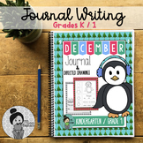 Kindergarten / Grade 1 Writing Prompts and Poems (December)