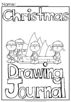 Christmas Build a Sentence Journal for Young Writers