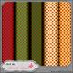 Christmas Joy 1 - Digital Scrap Paper Bundle (Set of 6)
