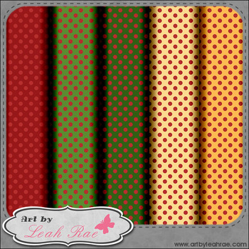 Christmas Joy 1 - Digital Scrap Paper Bundle (Set of 6)