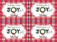 Christmas Joy Candy Tag