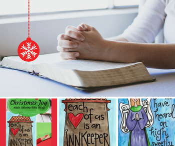Christmas Joy: Christian Bible Study plus Coloring Pages!