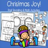 Christmas Joy! PreK Reading & Math Activities