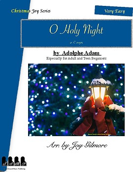 Christmas Joy Series: O Holy Night, Notes numbered and named