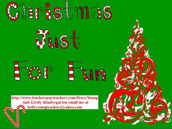 Christmas Just for Fun ActivBoard