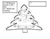 Christmas K Unit Math, LA, Writing
