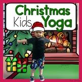 Christmas KIDS Yoga Cards and Printables {Christmas Activity}