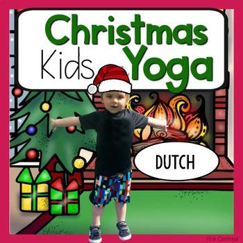 Christmas KIDS Yoga Cards and Printables {Christmas Activity} - DUTCH