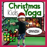 Christmas KIDS Yoga Cards and Printables {Christmas Activity} - Spanish Espanol