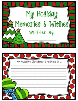 Christmas Keepsake Mini Book