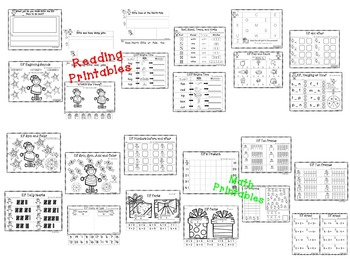 Christmas - Kiddos Connect to Elf Activities