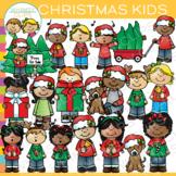 Kids Christmas Clip Art