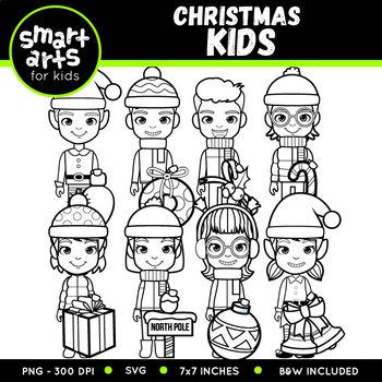Christmas Kids Clip Art