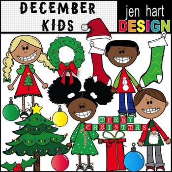 Christmas Kids Clipart