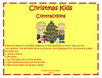 Christmas Kids Contractions!