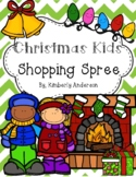 Christmas Kids Holiday Shopping Spree: Money Practice Activity