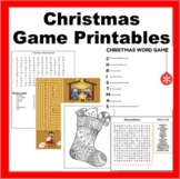 Christmas Kids Printables- Printable Games, Coloring Sheets, Dear Santa Letters