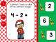 Christmas Kids Subtraction Within 10 for Google Classroom™ and Google Slides™
