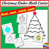 Christmas Math Activities Cut & Paste Craft Numbers 0-10
