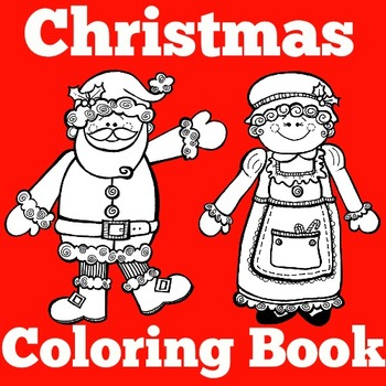 Christmas Coloring Book | Christmas Coloring Pages