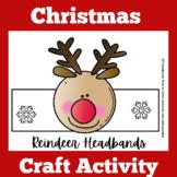 Christmas Craft | Preschool Kindergarten 1st Grade | Reindeer | Activity