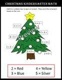 Christmas Kindergarten Math