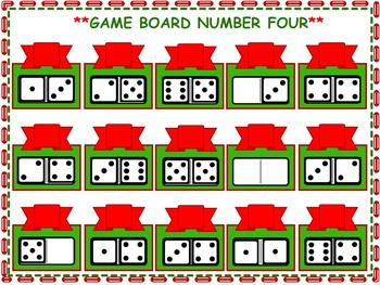 Christmas Kindergarten Math Games
