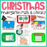 Christmas Kindergarten Math & Literacy Centers   Morning W