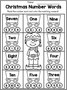 christmas math worksheets kindergarten by united teaching  tpt christmas math worksheets kindergarten