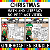 Christmas Activities (Kindergarten Bundle)
