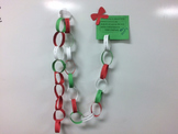 Christmas Kindness Advent Paper Chain Craftivity