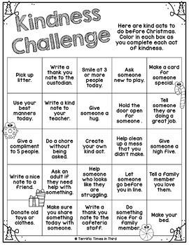 Christmas Kindness Challenge