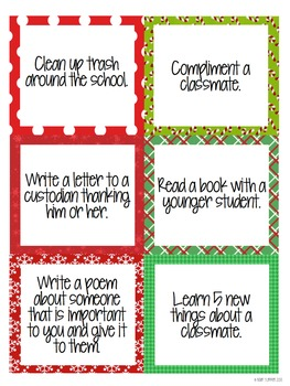 Christmas Countdown Calendar.Christmas Kindness Countdown An Advent Calendar For Your Classroom