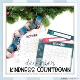 Christmas Kindness Countdown (EDITABLE)