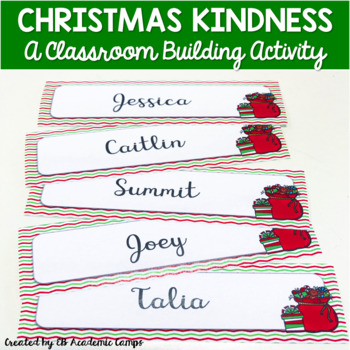 Christmas Kindness Tags #classroomchristmaskindness