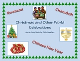 Christmas, Kwanzaa, Chanukah, and Chinese New Year Activity Book