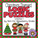 Christmas LOGIC PUZZLES: 5 Critical Thinking Activities wi