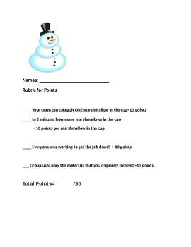 Christmas Lab Rubrics