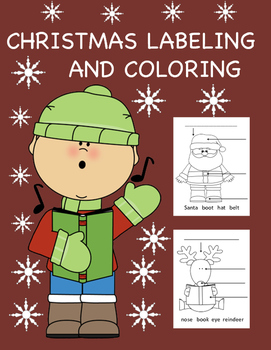 Christmas Labeling and Coloring