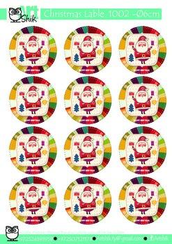 Christmas Lable  1002